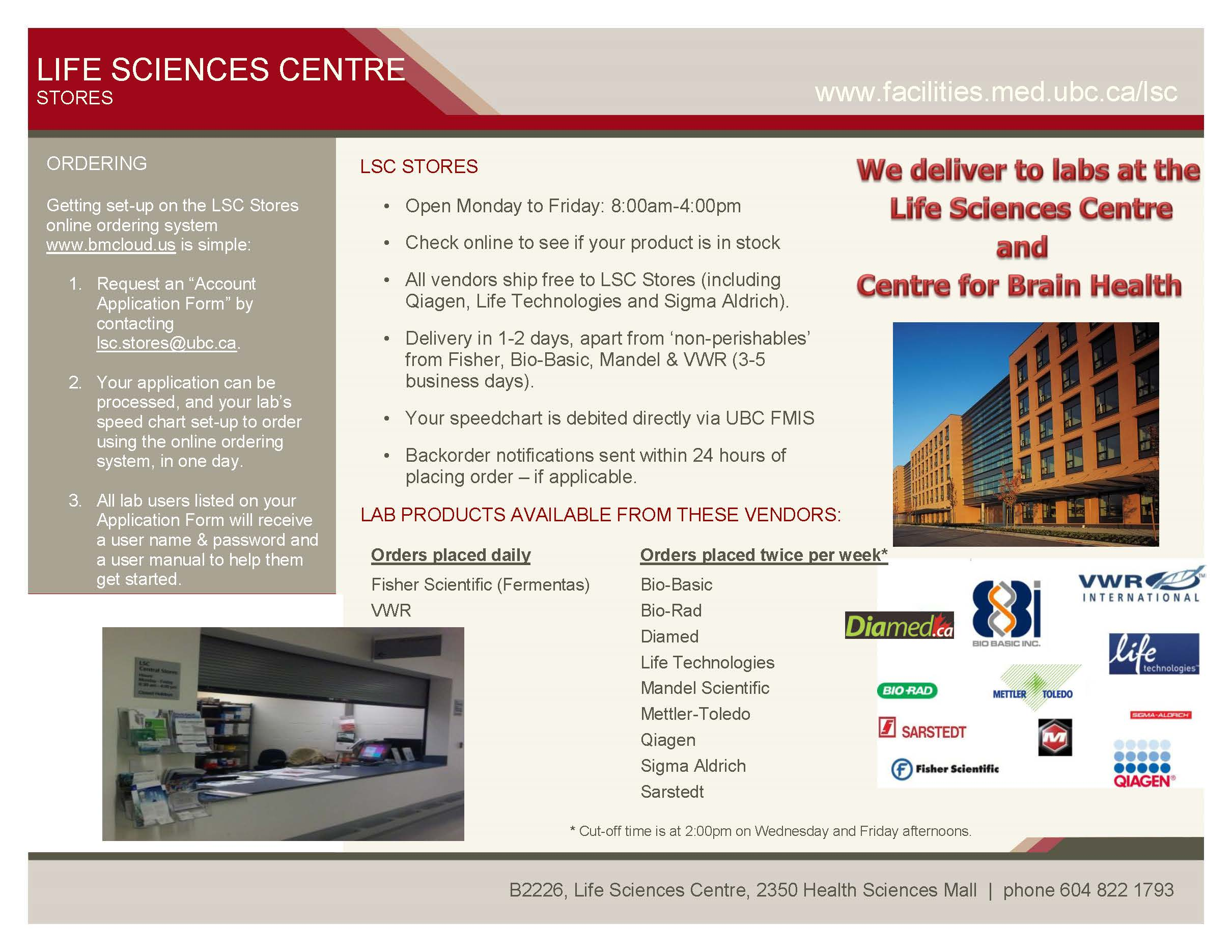 LSC Stores Flyer